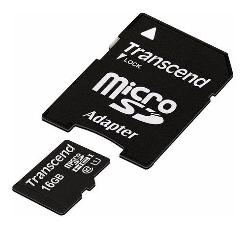 Oferta Memoria Transcend 64gb Micro Sd C 10 Nueva Original
