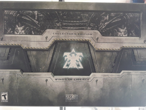 Starcraft Pc Wings Of Liberty Edição De Colecionador Novo