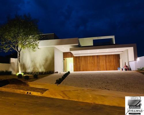 Maravilhosa Casa Térrea No Condomínio Saint Patrick Por Apenas R$ 2.800.000,00, 4 Suítes Fenomenais Entre Em Contato E Agende Sua Visita. - Ca00071 - 67692111