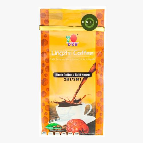 Café Negro Ligzhi Coffee 2 En 1 Dxn Con Ganoderma Lucidum
