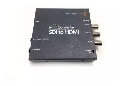 Blackmagic Mini Converter Quad Sdi Para Hdmi 4k