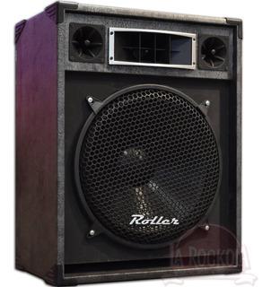 Bafle Roller Con Parlante De 15 Caja Pasiva 250w Rms Audio