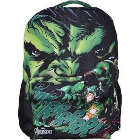 Mochila Vingadores Hulk Original Costas Xeryus 8075 T4