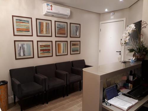 Imagem 1 de 15 de Sala Comercial Para Locação Em Mogi Das Cruzes, Centro, 2 Banheiros - Scl09_2-1185746