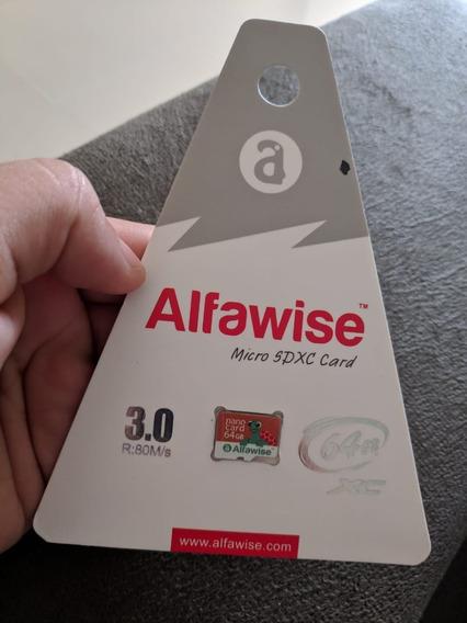 Cartão De Memória 64gb Classe10 Alfawise Original