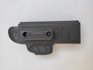 Coldre Polímero Velado Destro - Taurus / Imbel / Glock