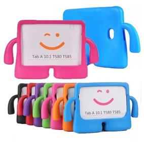 Capa Infantil Tablet Galaxy Tab A 10.1 T580 T585 + Caneta