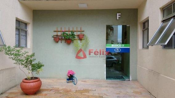 Apartamento Residencial À Venda, Condomínio Via Schnneider, Parque Senhor Do Bonfim, Taubaté. - Ap1289