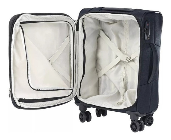 Valija Samsonite Shield Negro Mediana - Semi Rígida