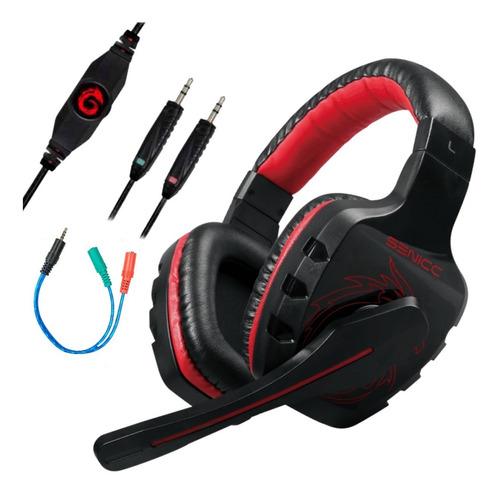 Auricular Gamer Con Microfono Ideal Pc Ps4 Xbox Gaming Cuota