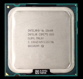 Processador Intel Core 2 Duo E8600 3,33ghz Fsb1333 Seminovo
