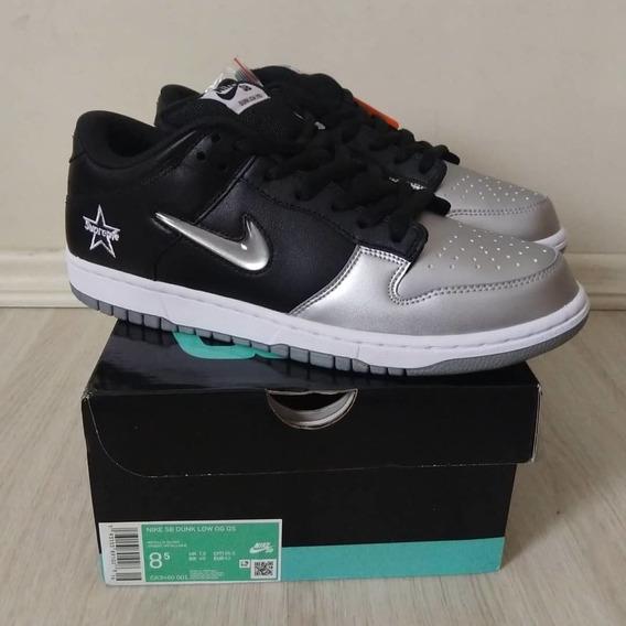 Tênis Nike Sb Dunk X Supreme