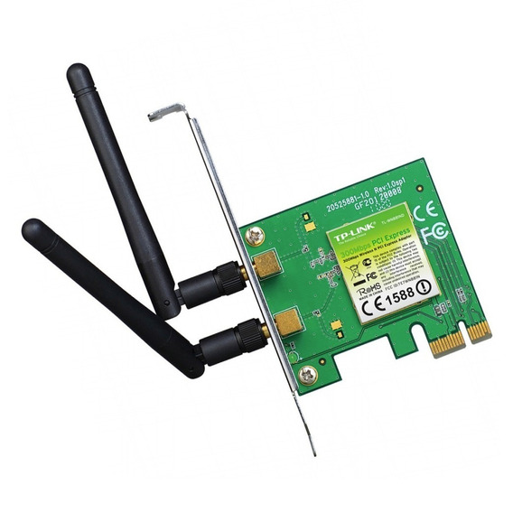Placa Red Wifi Tp-link 881nd 300m Inalambrica Pci-e Rosario