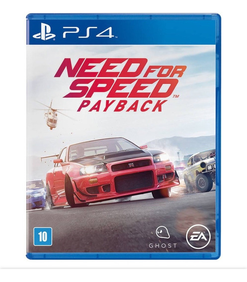 Need For Speed Payback Ps4 Mídia Física Lacrado