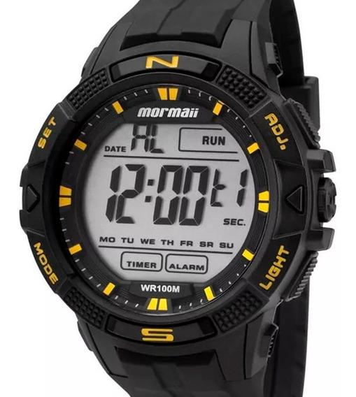 Relógio Mormaii Masculino Digital Preto Original + Nf