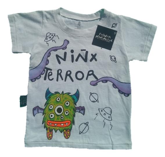 Remera Niñx Terror