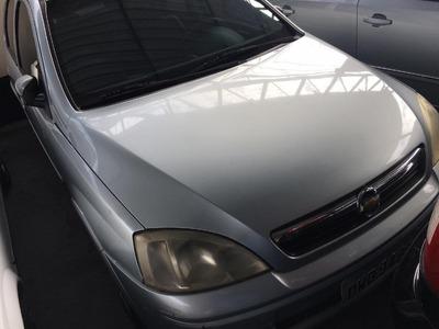 Chevrolet Gm Corsa Hatch Joy 1.0 Prata 2008