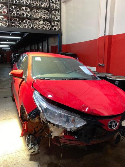 Sucata Toyota Yaris Para Vendas De Peças, Motor, Caixa