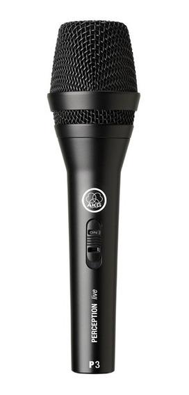 Microfone Com Fio Akg Perception P3s Voz E Instrumentos