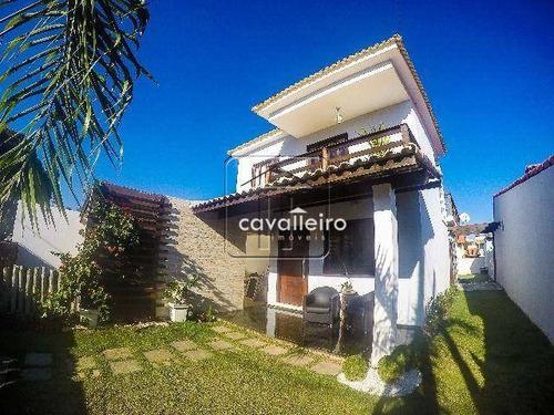 Casa No Condominio Bosque De Itapeba, São José Do Imbassaí, Maricá - Ca1743. - Ca1743