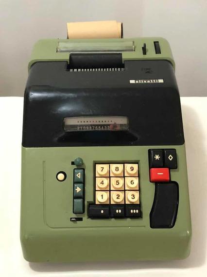 Maquina Calculadora Antiga Olivetti Eletrossumma 22