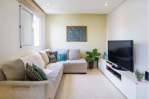Imagem 1 de 23 de Apartamento Com 3 Dormitórios À Venda, 134 M²  - Perdizes - São Paulo/sp - Ap3189