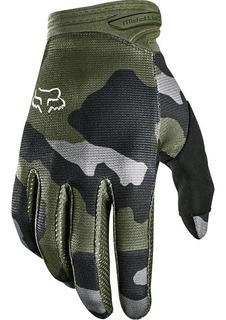 Guantes Fox Dirtpaw Przm Camo Verde/camo Motocross Mtb