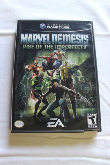 Gamecube Marvel Nemesis: Rise Of The Imperfects Original