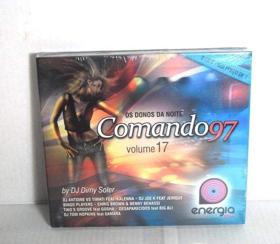 Cd Comando 97 Os Donos Da Noite Vol 17 Duplo Dance Pop Funk