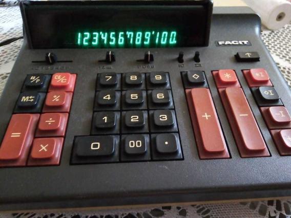 Calculadora Facit Bivolt Funcionando