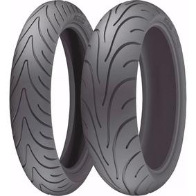 Par Pneu 110/70-17 + 140/70-17 Michelin Street Cb300 Fazer