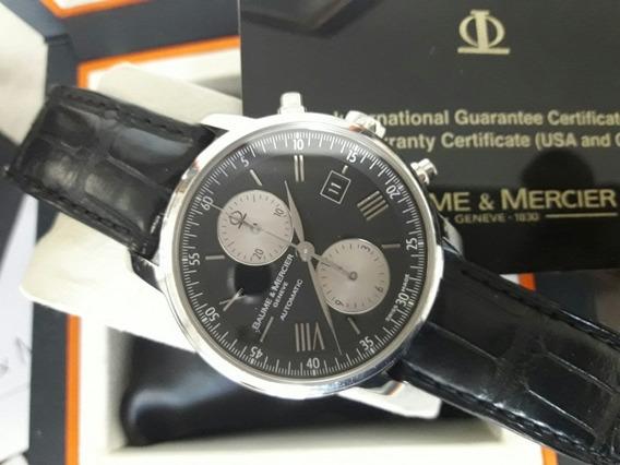 Relógio Suíço Balme & Mercier Semi-novo Impecável Com Caixa