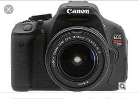 Camera Canno T3i Usada