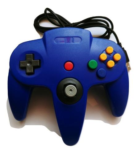 Control Nintendo 64 Transparente Conexión Usb Para Pc Y Mac