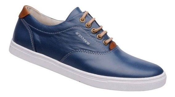 Zapatillas Stone 2013 Rollo Ingles - Azul - Calzado Urbano