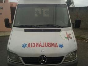 Ambulância Sprinter 2010 Longa E Alta Com Ar