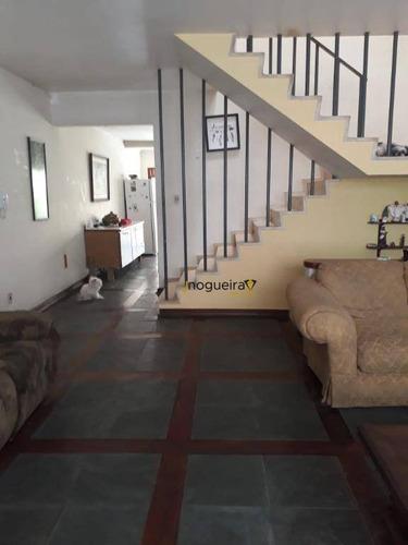 Casa Com 3 Dormitórios À Venda, 200 M² Por R$ 1.400.000,00 - Chácara Santo Antônio - São Paulo/sp - Ca1096
