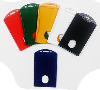 Porta Carnet Vertical Varios Colores X 15 Unidades
