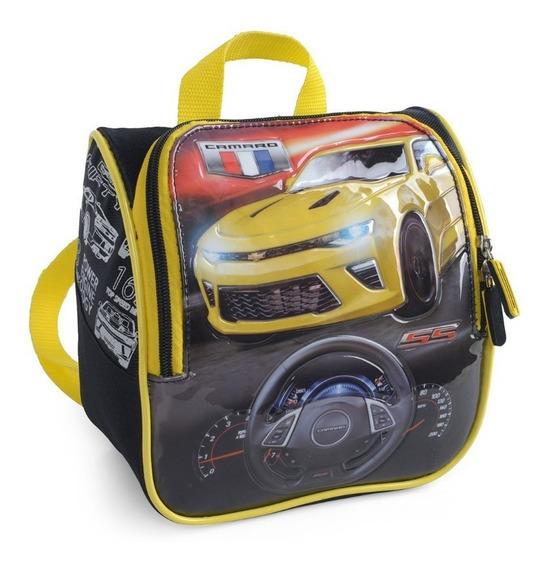 Lancheira Escolar Masculina Termica Camaro 32504 Amarelo