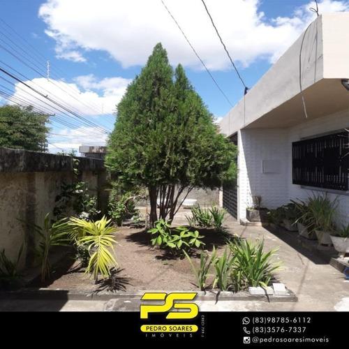 Casa Com 6 Dormitórios À Venda, 459 M² Por R$ 750.000,00 - Torre - João Pessoa/pb - Ca0646
