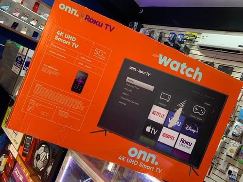 Smart Tv Onn 50 Pulgadas 4k Ultra Hd