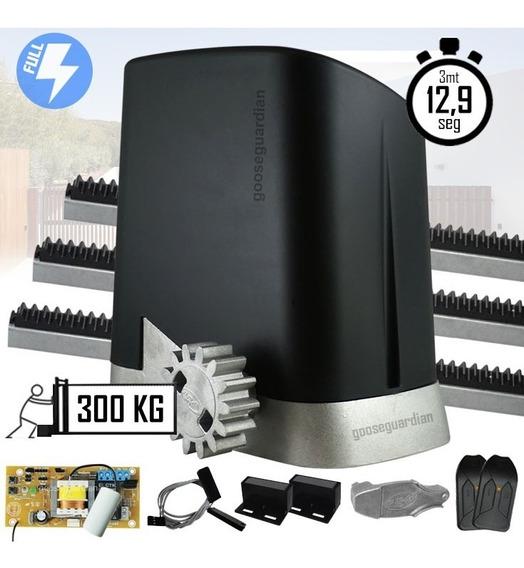 Kit Motor Ppa Home 1/4cv Portão Deslizante Plug 300kg
