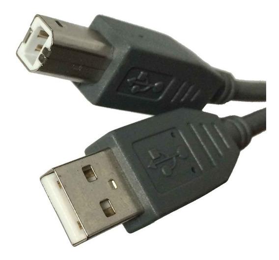 Cable Para Impresora Usb A Usb-b Escaner 1.8m Discos Duros /e