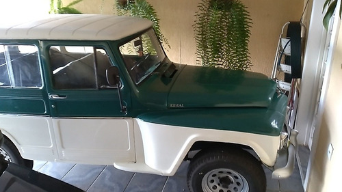 Imagem 1 de 5 de Ford Rural Willys