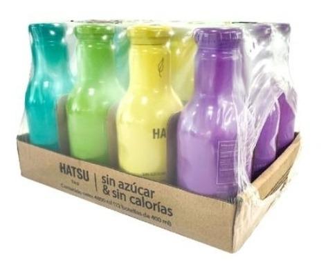 Te Hatsu Surtido S/azúcar 12pk/400ml - mL a $11