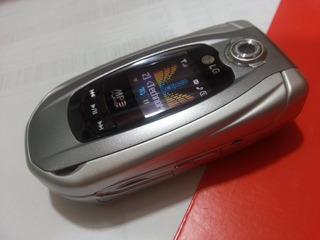 Celular Lg Me500 Music Cam Player Fliper G Serie Carros Raro