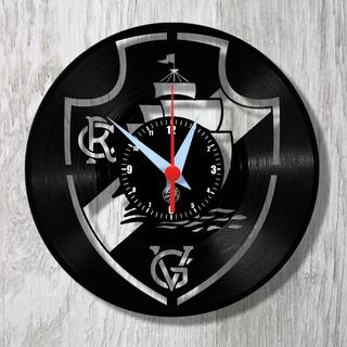 Esporte Relógio Parede Vinil Time Futebol Arte No Lp Disco