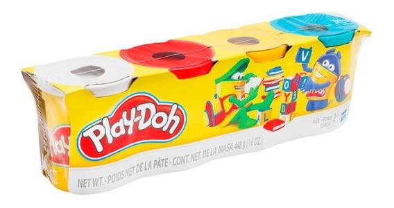 Play-doh Masa Classic 4 Colores E5517 Hasbro Envio Full