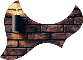 Escudo Palheteira Resinada Violão Aço Jumbo Sônica Wall