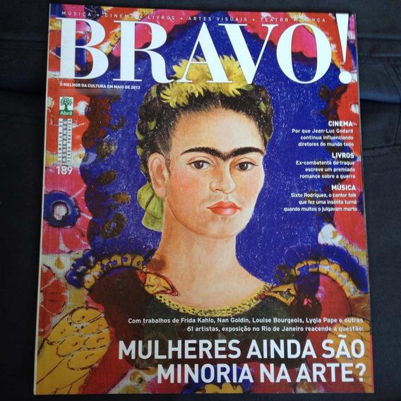 Revista Bravo 189 2013 Frida Kahlo, Nan Goldin + 61 Artistas